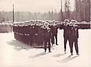 Личный состав 24 ОПЛАП на параде 1 мая 1969 года. Кипелово