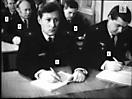 Командиры кораблей Балюков (1), Вотяков (2), Корнилов (3), Боголепов (4), Лекомцев (5).