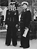 Афанасьев Геннадий Николаевич с сослуживцем, май 1956 года, Новороссия, ТОФ