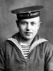 А.С. Федотов, курсант 3-й школы пилотов первоначального обучения ВВС ВМФ. Сарапул, Удмуртия, 1943 г