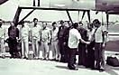 Ту-95РЦ бн 11. Встреча экипажа Симачева Г.Н. по прилету в Луанду, Ангола