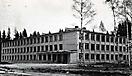 Здание школы. Октябрь 1965 года