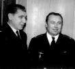 Шишов А.С. (зам. ком. полка по п/части), Федотов А.С. (командир полка) 1964 (?) год