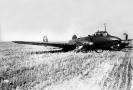 Вынужденная посадка торпедоносца Пе-2. Конец 1940-х годов