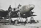 Обслуживание Ил-4 в 19 УОАП. Сорочинск, 1944 г.
