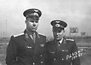 Немлий В.С. (справа). Рязань, 1958 г.