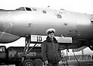 Ту-95РЦ бн 10. Штурман корабля Паньков Н.Л. Кипелово