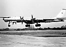 Ту-95РЦ бн 36. Посадка на ас Остров. Начало 1990-х годов