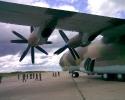 Ан-22 на аэродроме Кипелово. 2009 год