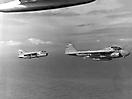 A-7E эскадрильи VA-37 и A-6E эскадрильи VA-176 с авианосца USS Forrestal, 1987.