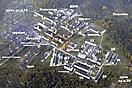 Поселок Федотово с высоты 1000 м. Сентябрь 2001 года