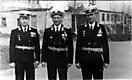 Первое командование ОТЭЧ - Ларюшкин, Стряупис, Беломестнов. 1984 год.